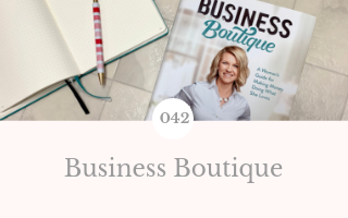 042: Business Boutique by Christy Wright – March Book Club